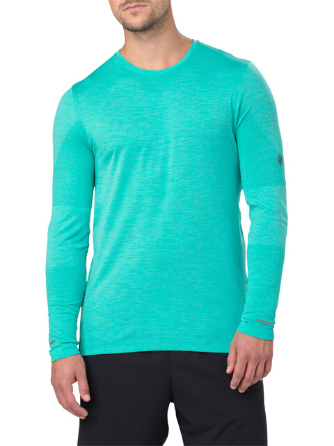 asics Seamless LS Top Men Lake Blue Heather
